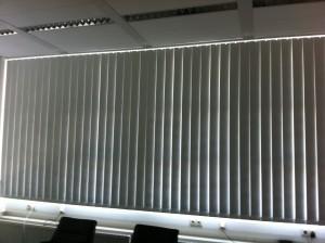 Lamellenvorhang in Berlin Charlottenburg montiert
